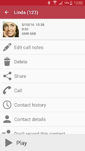 automatic call recording app image
