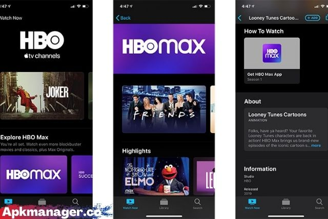 Image Of HBO Max App